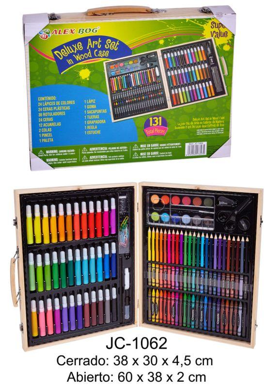 SET ART STUDIO PINTURA 131 PIEZAS