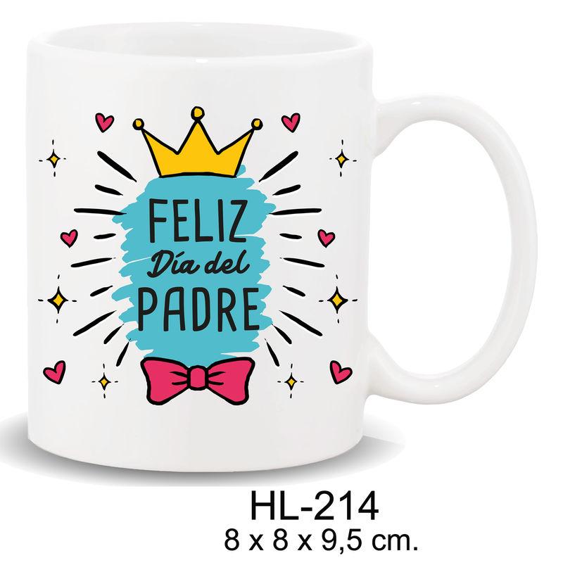 Mug Con Mensaje Feliz Dia Del Padre -