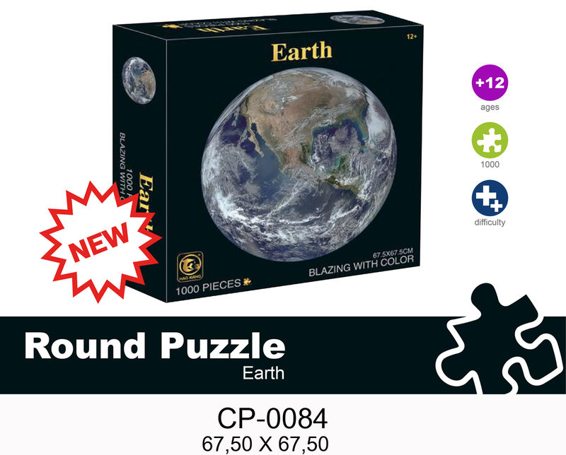 NEW PUZZLE REDONDO 1000P EARTH