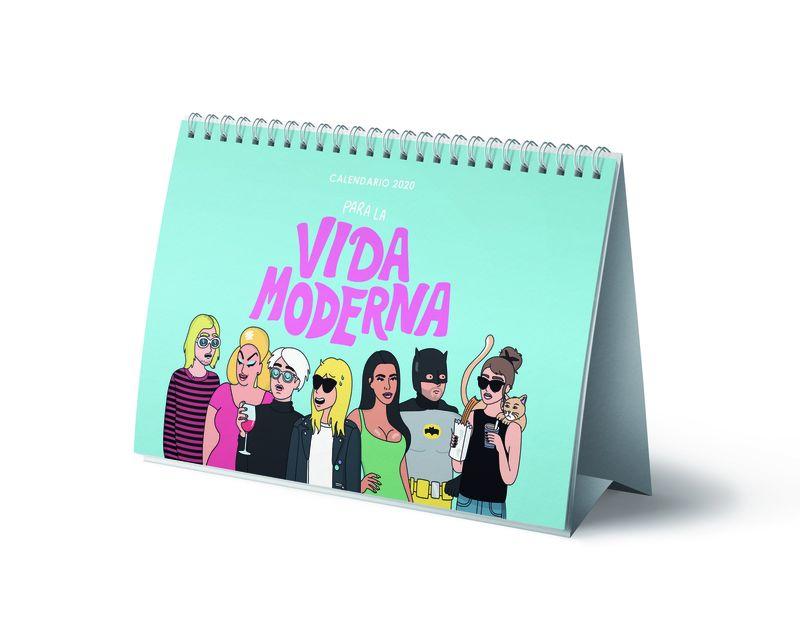 CALENDARIO MESA 2020 - VIDA MODERNA