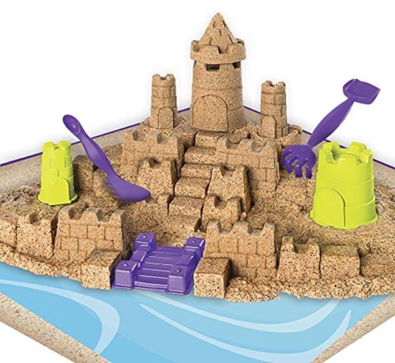 Kinetic Sand Contruye Reino -