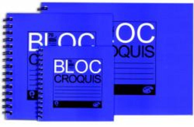 BLOC CROQUIS ESPIRAL A3 100H 90gr