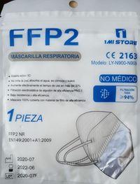 MASCARILLA DE PROTECCION FFP2 CLIP AJUSTE INDIVIDUAL