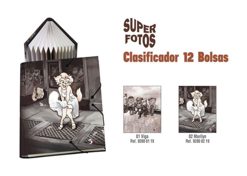 SUPER FOTOS VIGA * CLASIFICADOR 12 BOLSAS Fº R: 92000119