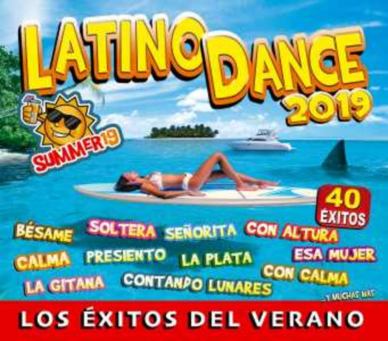 LATINO DANCE 2019 (2 CD)