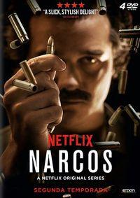 NARCOS, TEMPORADA 2 (DVD) * WAGNER MOURA, PEDRO PASCAL