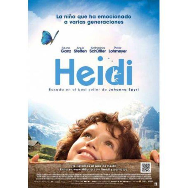 HEIDI (CINE 2016) (DVD) * BRUNO GANZ