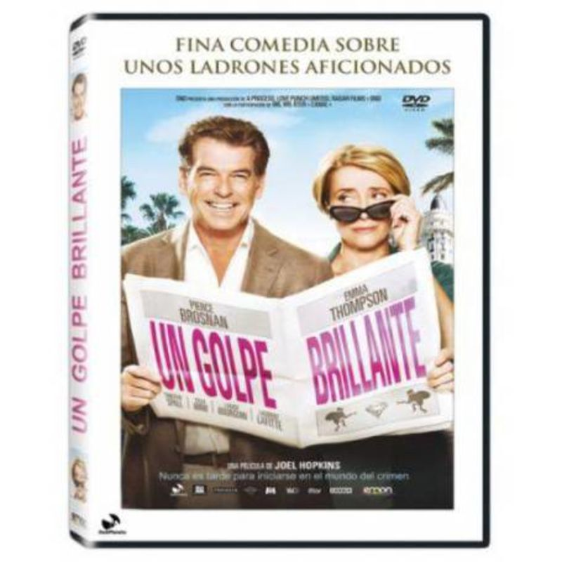 UN GOLPE BRILLANTE (DVD) * PIERCE BROSNAN