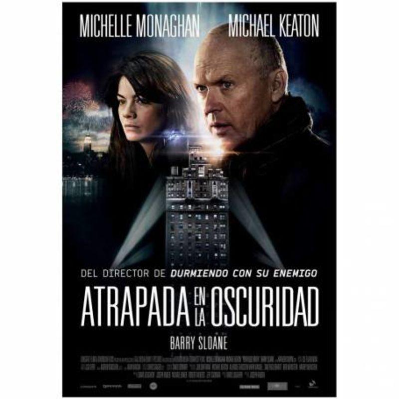 ATRAPADA EN LA OSCURIDAD (DVD) * MICHAEL KEATON