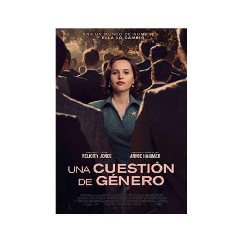 UNA CUESTION DE GENERO (DVD) * FELICITY JONES, ARMIE HAMMER