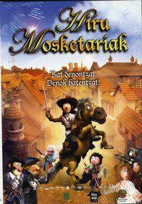 (dvd)  Hiru Mosketariak - Janis Cimmermanis