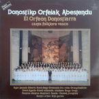 Canta Folklore Vasco (lp) - Orfeon Donostiarra