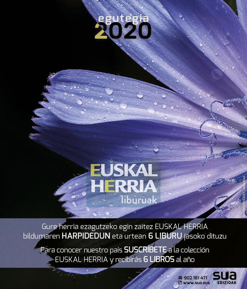 (SOBREMESA) 2020 CALENDARIO SUA / ELKAR FUNDAZIOA EGUTEGIA