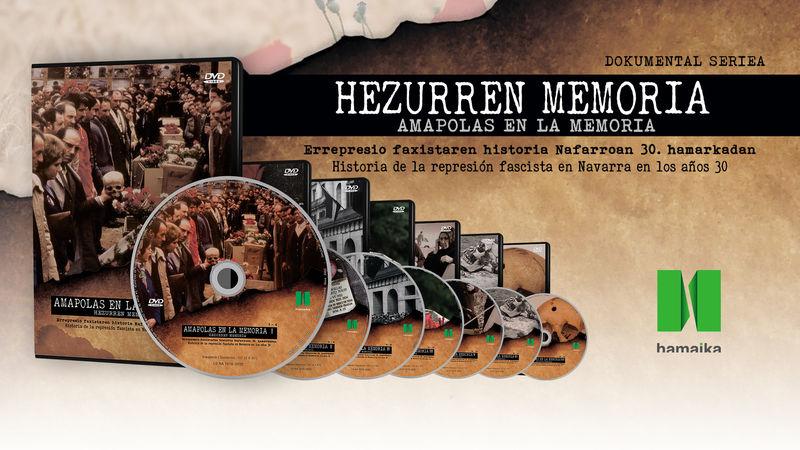 (7 DVD) HEZURREN MEMORIA = AMAPOLAS EN LA MEMORIA