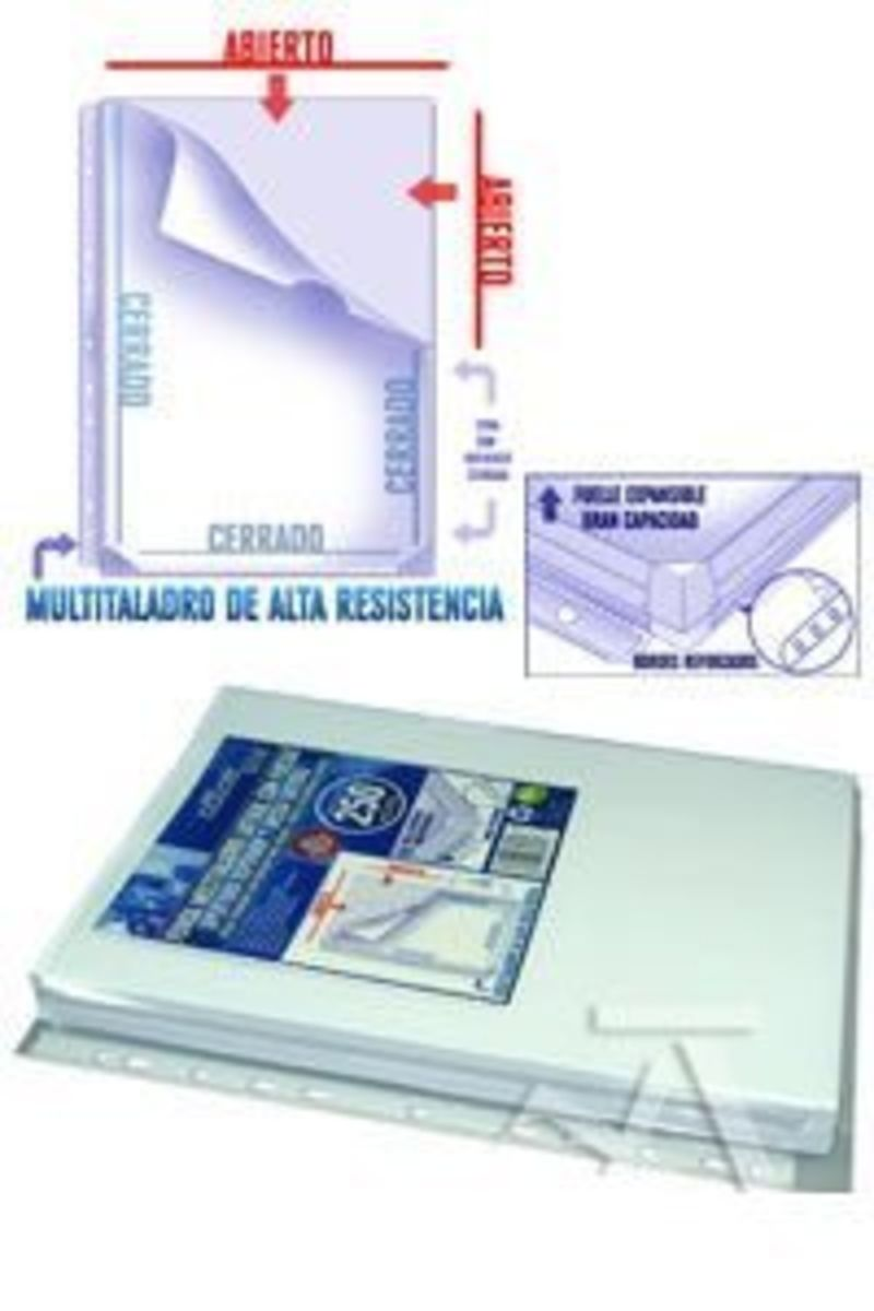 C / 5 FUNDA MULTITALADRO LATERAL CON FUELLE R: 37261