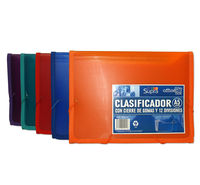 CLASIFICADOR A5 12 DIVISIONES C / GOMAS SUPRA R: 41015