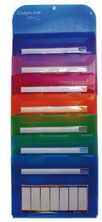 Color Line * Organizador Desplegable 7 Div. R: 47011 -