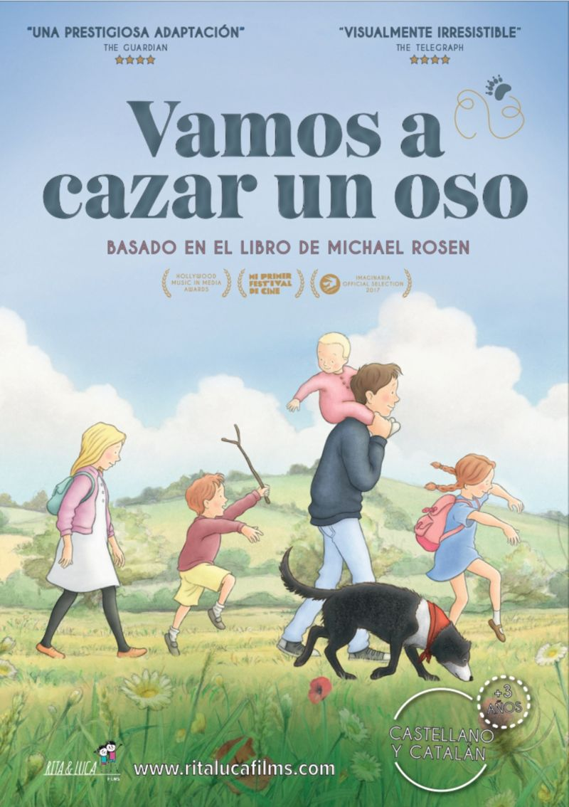 (DVD) VAMOS A CAZAR UN OSO (CAST / CAT)