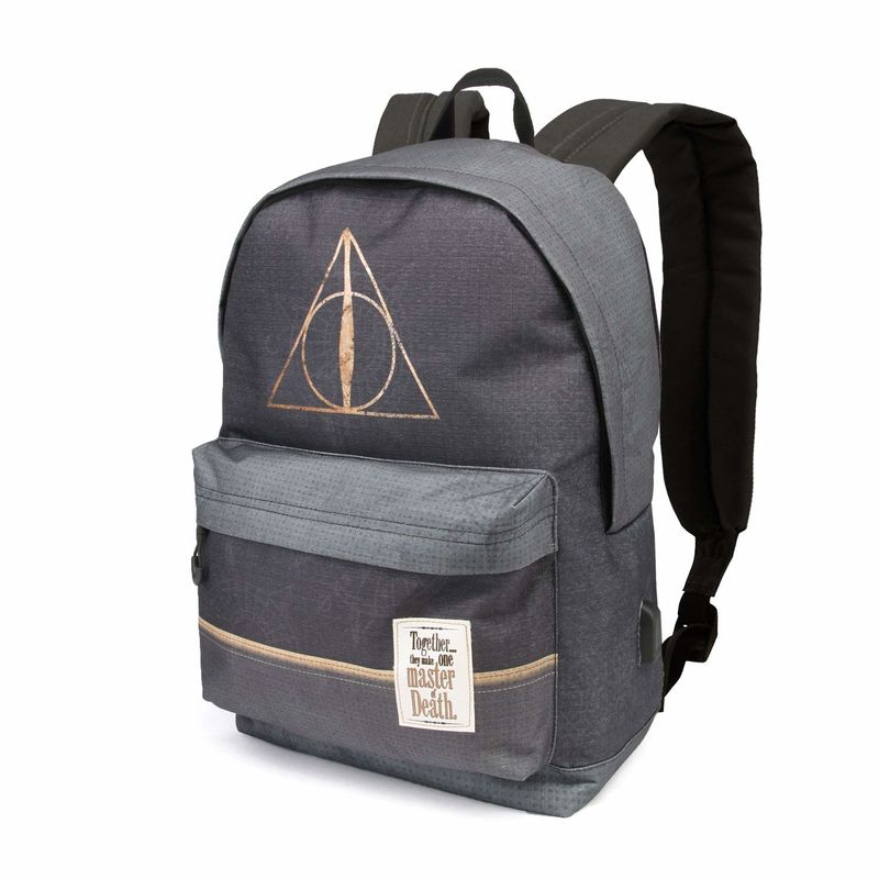 HARRY POTTER * MOCHILA HS DEATHLY HAL