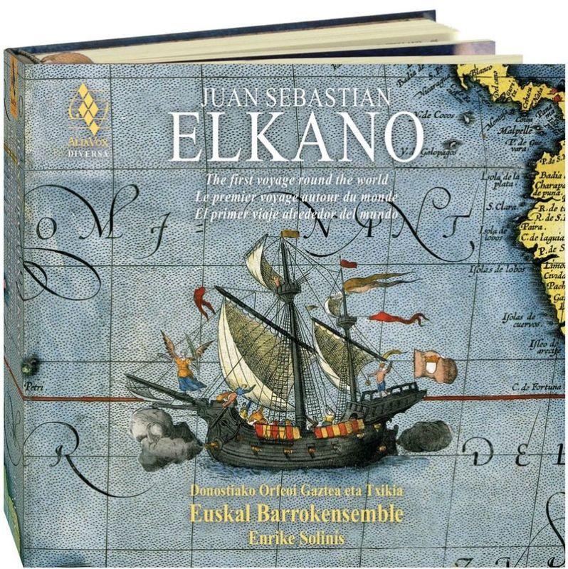 Juan Sebastian Elkano (2 Cd+libro) So - Enrike Euskal Barrokensemble / Euskal Barrokensemble / Enrike Solinis