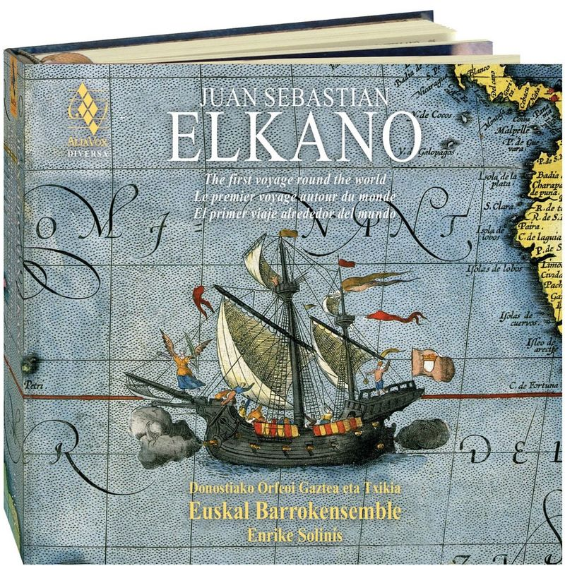 JUAN SEBASTIAN ELKANO (2 CD+LIBRO) SO