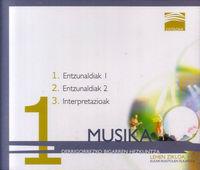 Dbh 1 - Ostadar - Musika (3 Cd) - Entzunaldiak 1-2, Interpretazioak -
