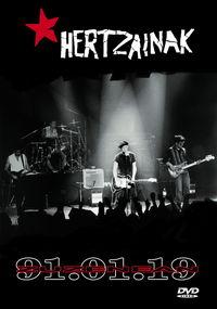 (dvd) Hertzainak Zuzenean 19.01.91 - Hertzainak