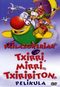 (dvd)  Pailazokeriak - Mirri Eta Txiribiton Txirri