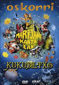 (dvd)  Marijane Kanta Zan! - Oskorri & Kukubiltxo