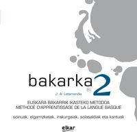 BAKARKA 2 (FRANTSESEZ) (CD BIKOITZA)