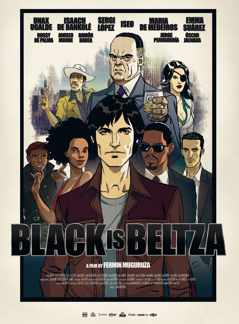 (dvd) black is beltza - Fermin Muguruza