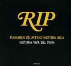 HISTORIA VIVA DEL PUNK (DVD+CD) - PUNKAREN 25 URTEKO HISTORIA