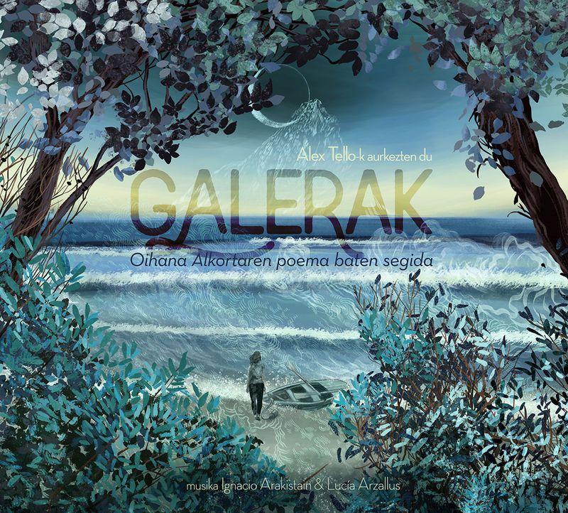(CD+DVD) ALEX TELLOK AURKEZTEN DU: GALERAK, OIHANA ALKORTAREN POEMA BATEN SEGIDA