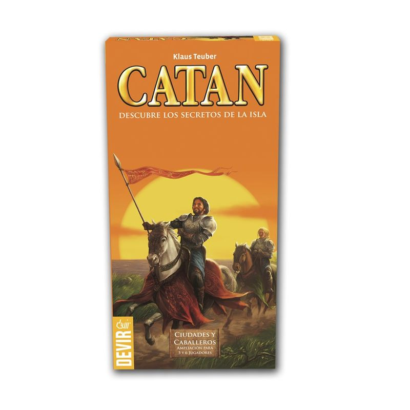 CATAN CIUDADES Y CABALLEROS EXP. 5-6 JUGADORES R: BGCIU56