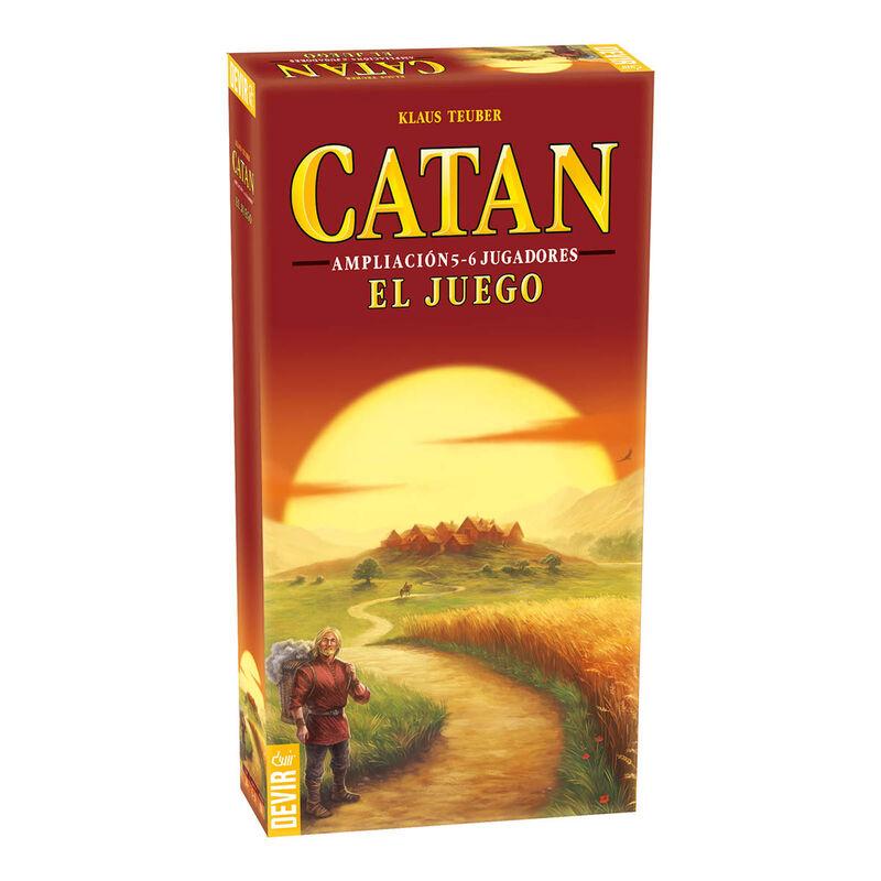 Catan - Exp. Para 5-6 En Catalan -