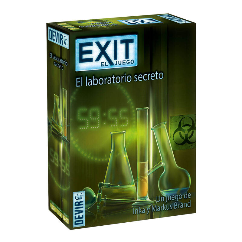 EXIT 3 * EL LABORATORIO SECRETO R: BGEXIT3