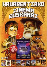 HAURRENTZAKO ZINEMA EUSKARAZ (10 DVD)