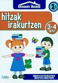 Hitzak Irakurtzen (3-4 Urte) - Batzuk