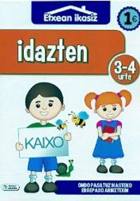 Idazten (3-4 Urte) - Batzuk