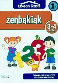 Zenbakiak (3-4 Urte) - Batzuk