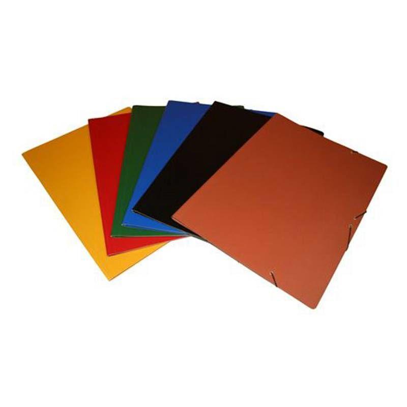 Paq / 5 Carpetas Dibujo A3 Con Solapa Verde -
