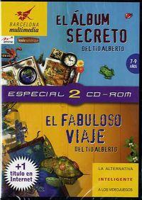 ALBUM SECRETO DEL TIO ALBERTO, EL / FABULOSO VIAJE DEL TIO ALBERTO