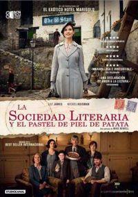LA SOCIEDAD LITERARIA Y EL PASTEL DE PIEL DE PATATA (DVD) * LILY JAM