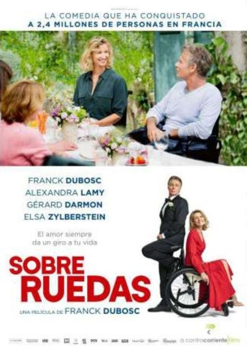 SOBRE RUEDAS (DVD) , ALEXANDRA LAMY