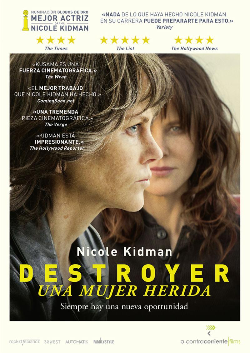 DESTROYER, UNA MUJER HERIDA (DVD) * NICOLE KIDMAN, SEBASTIAN STAN. .