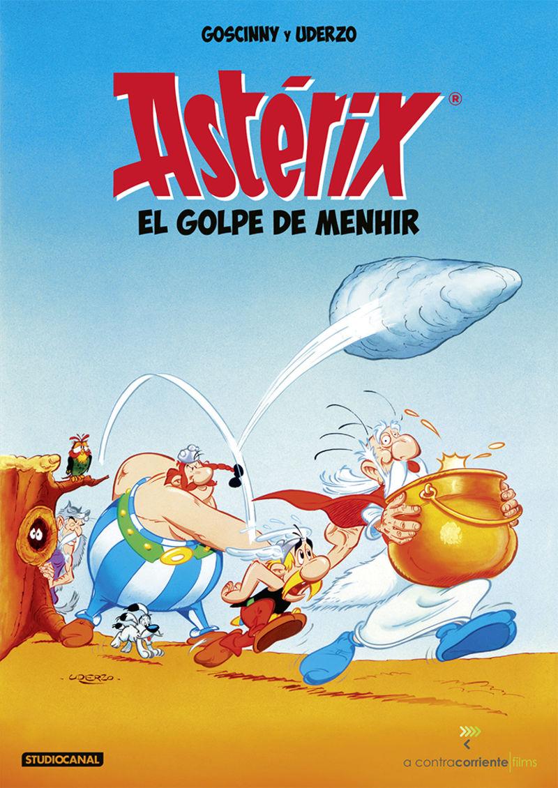 ASTERIX, EL GOLPE DEL MENHIR (DVD)