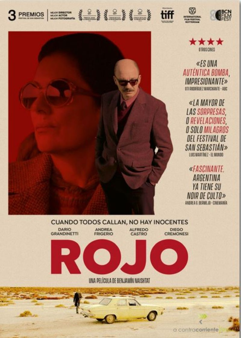 ROJO (DVD) * DARIO GRANDINETTI