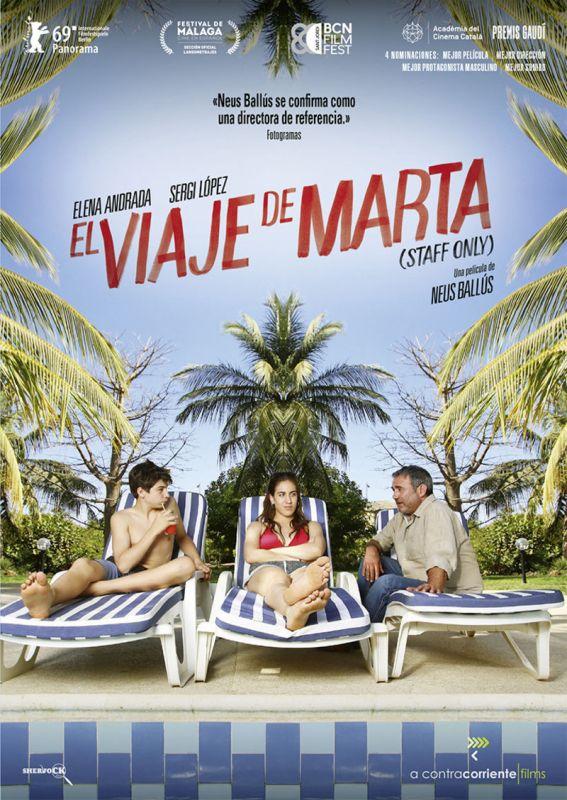 EL VIAJE DE MARTA (STAFF ONLY) (DVD) * ELENA ANDRADA