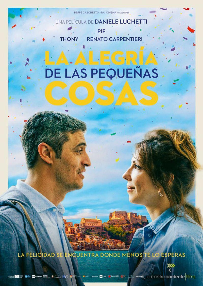 LA ALEGRIA DE LAS PEQUEÑAS COSAS (DVD) * PIF / THONY