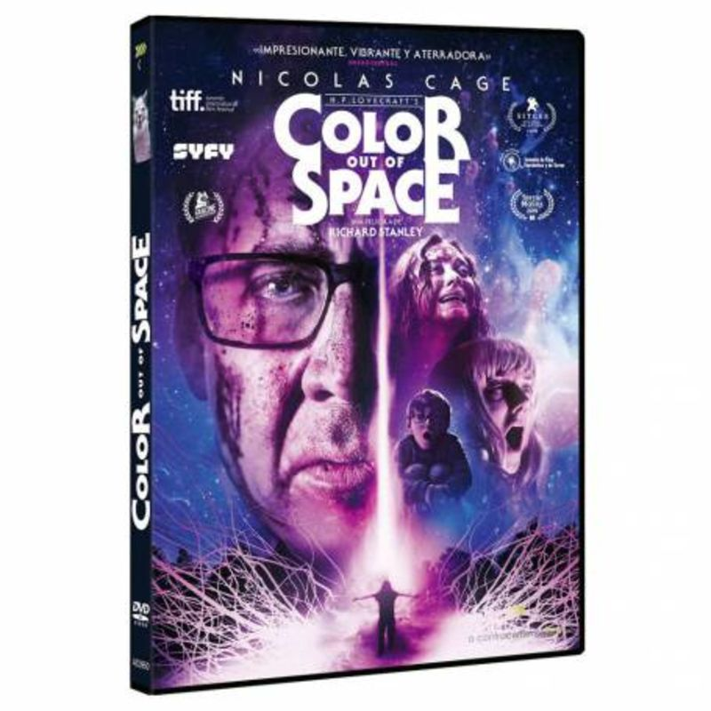 COLOURS OUT OF SPACE (DVD) * NICOLAS CAGE